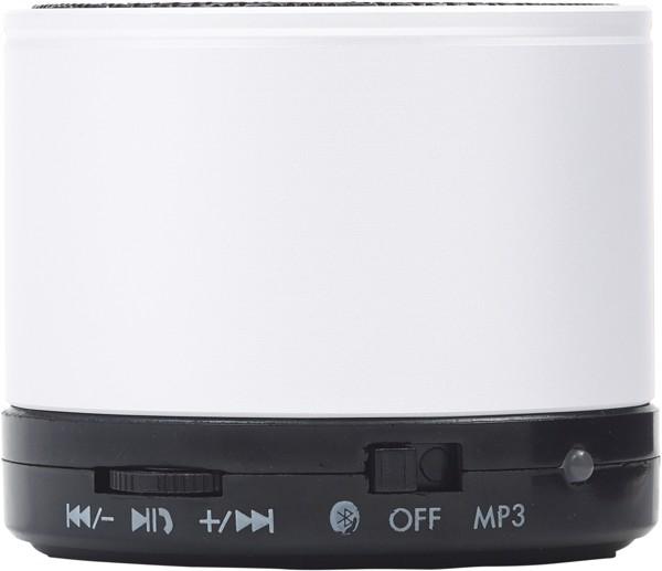 Wireless Lautsprecher 'Emotion' aus Metall - White