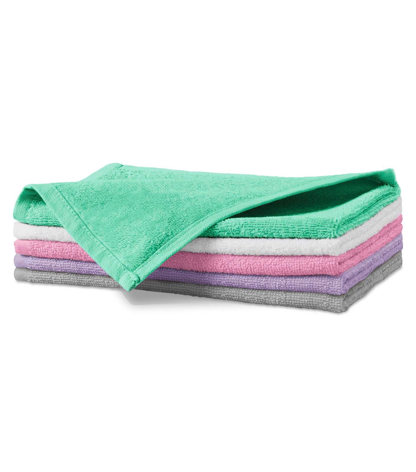 Malý ručník unisex Malfini Terry Hand Towel - Světle Šedá / 30 x 50 cm