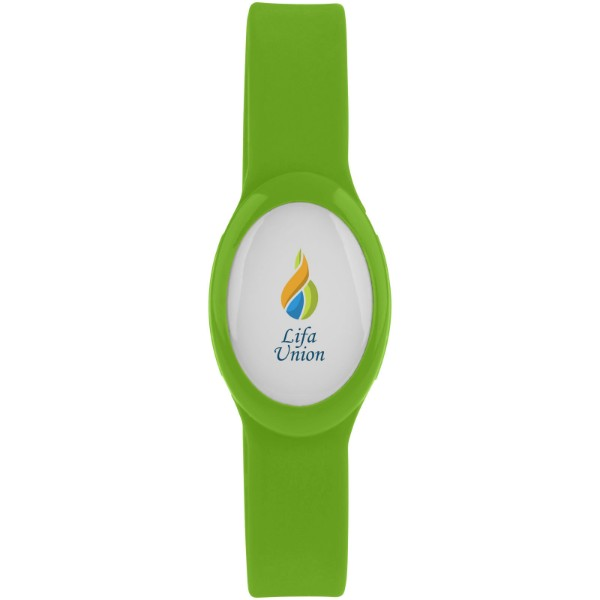Tico multi-colour LED bracelet - Lime