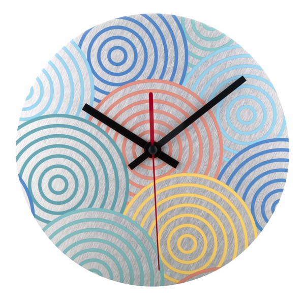 Wall Clock BeTime Alu D - Silver