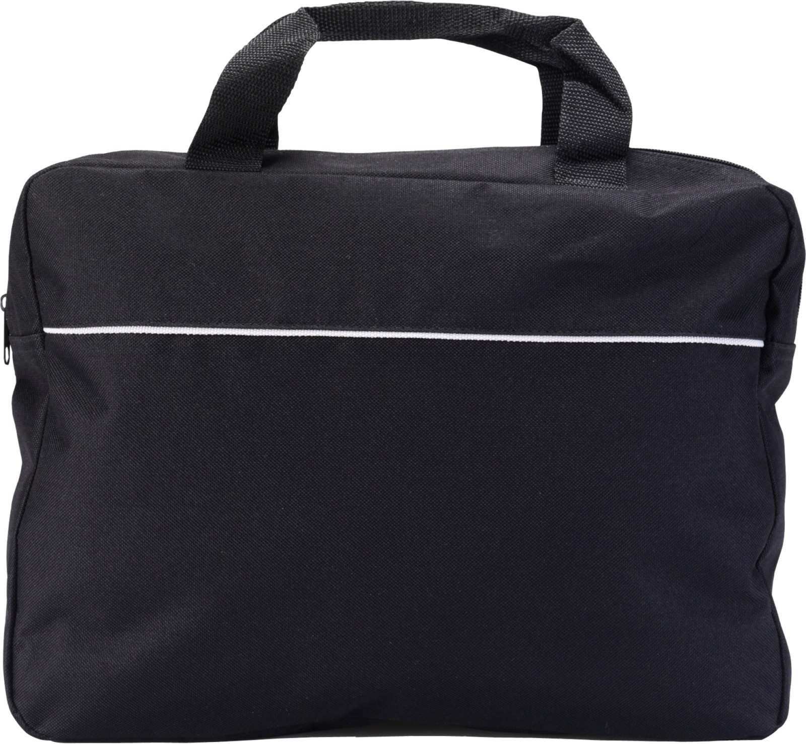 Polyester (600D) document bag - Black