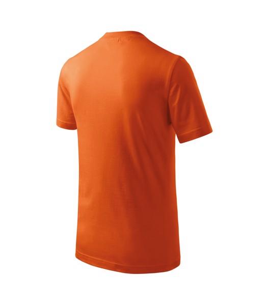 Tričko dětské Malfini Basic - Oranžová / 158 cm/12 let