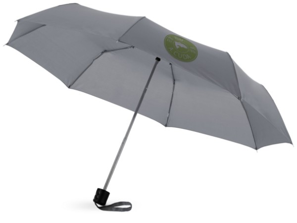 "21,5"" skládací deštník Ida - Šedá"