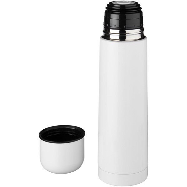 Gallup 500 ml vacuum insulated flask - White