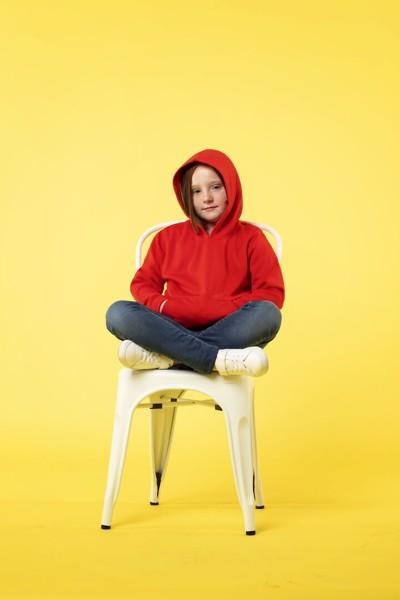 Sweatshirt Tecnica Criança Theon - Marino / 6-8
