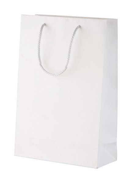 Custom Made Paper Shopping Bag CreaShop L, Large - Multicolour