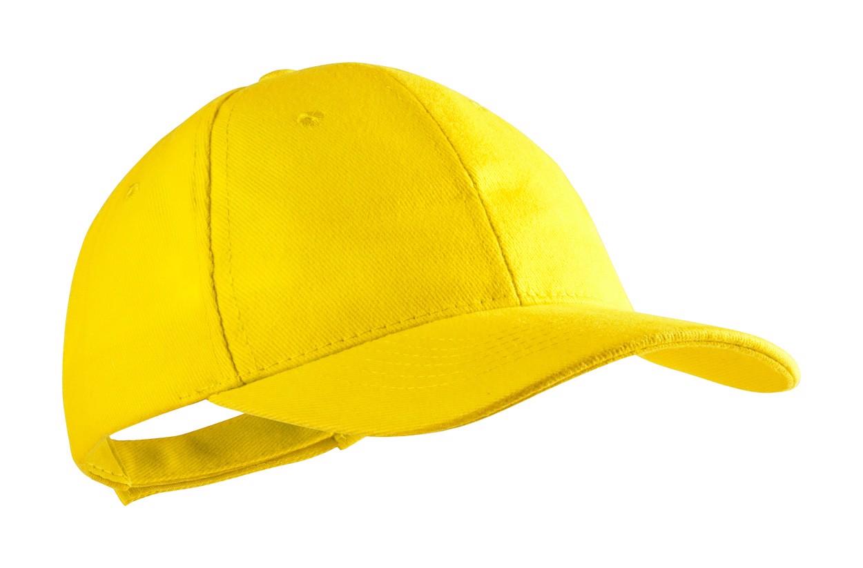 Baseballová Čepice Rittel - Žlutá