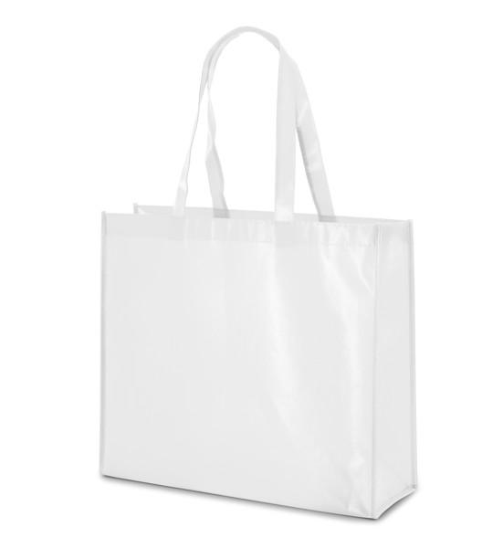 MILLENIA. Laminated non-woven bag - White