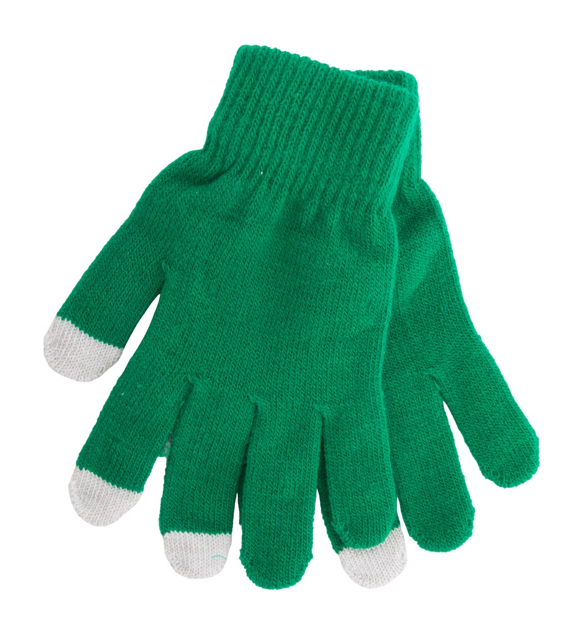Touch Screen Gloves Actium - Green / Grey