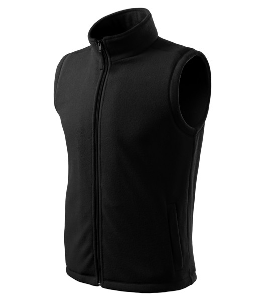 Fleece Vest unisex Malfini Next - Black / XS