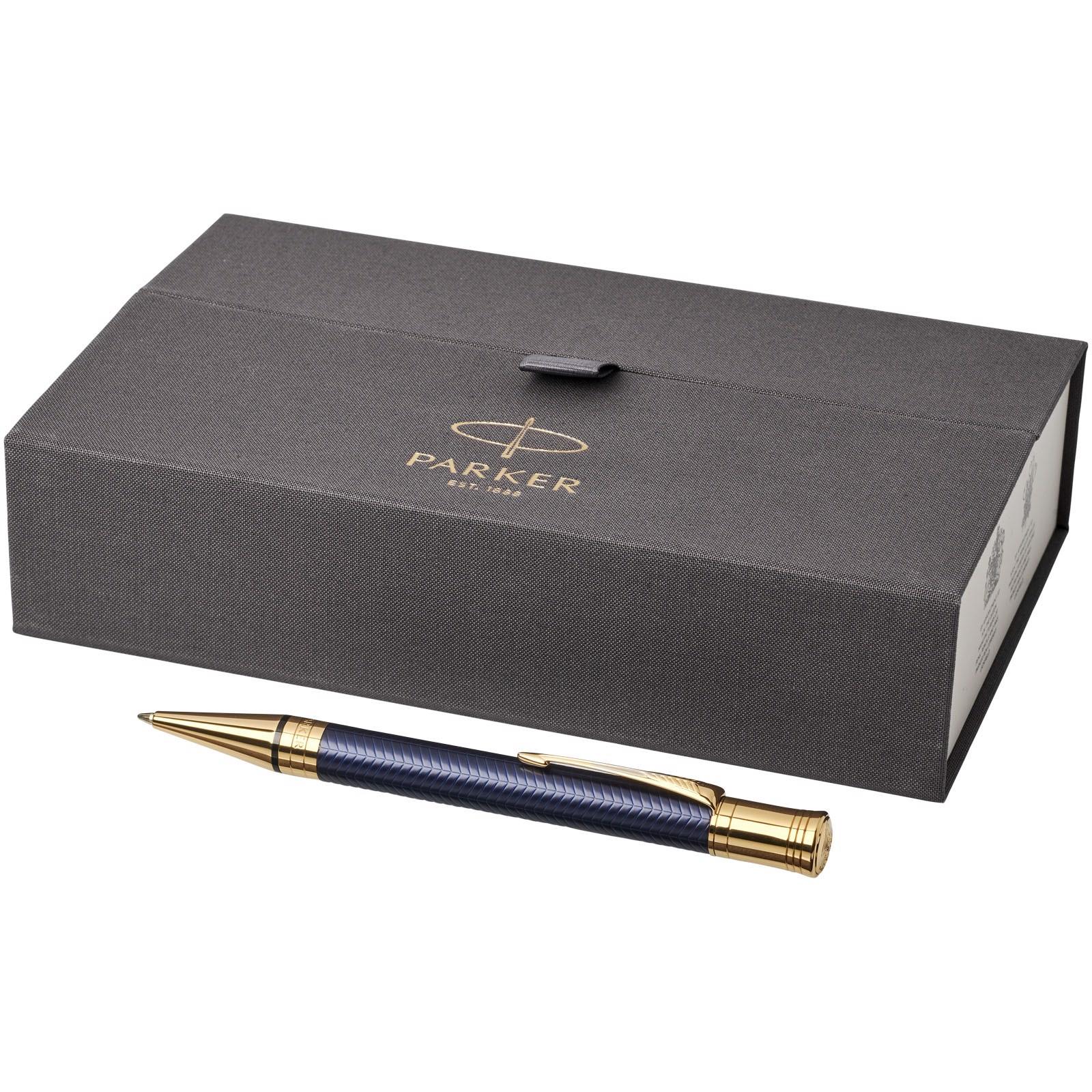 Duofold premium ballpoint pen - Navy / Gold