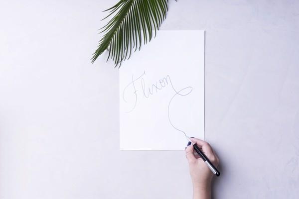 Bolígrafo Flixon - Blanco