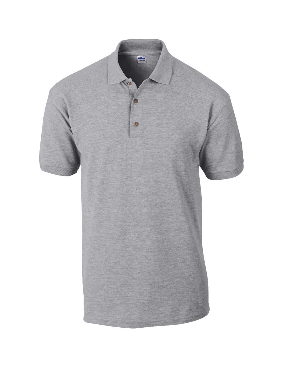 Pique Polo Shirt Ultra Cotton - Grey / XL