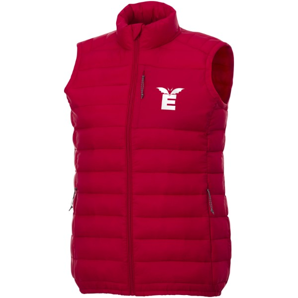 Pallas women's insulated bodywarmer - Red / XS