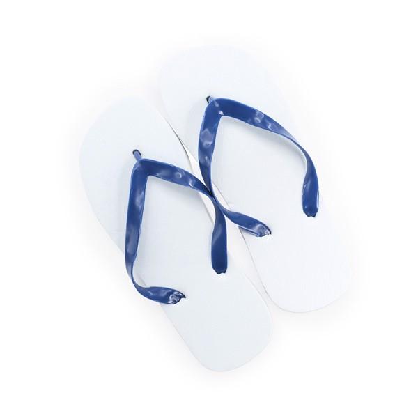 Chancla Sunset - Blanco / Azul / MUJ