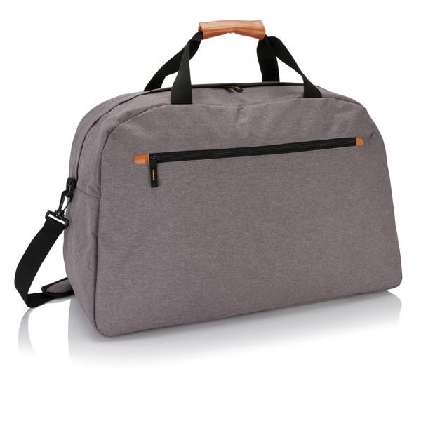 Módní dvoutónová cestovní taška