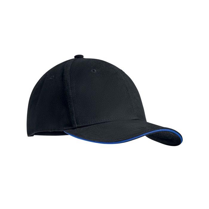 Šestipanelová kšiltovka Dunedin - royal blue