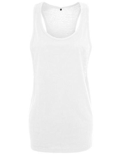 Ladies` Loose Tank - White / XL