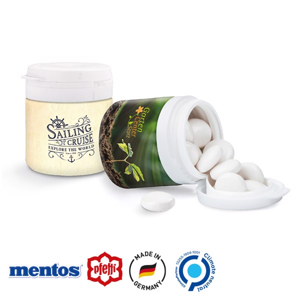 Top Can® Midi, Mentos Kaudragee Mint - Weiß / Mint