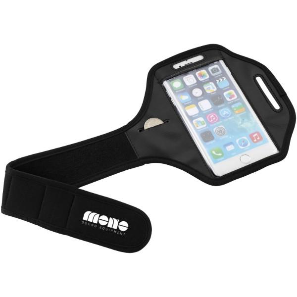 Pažní páska Gofax s dotekovou folií pro chytrý telefon - Černá