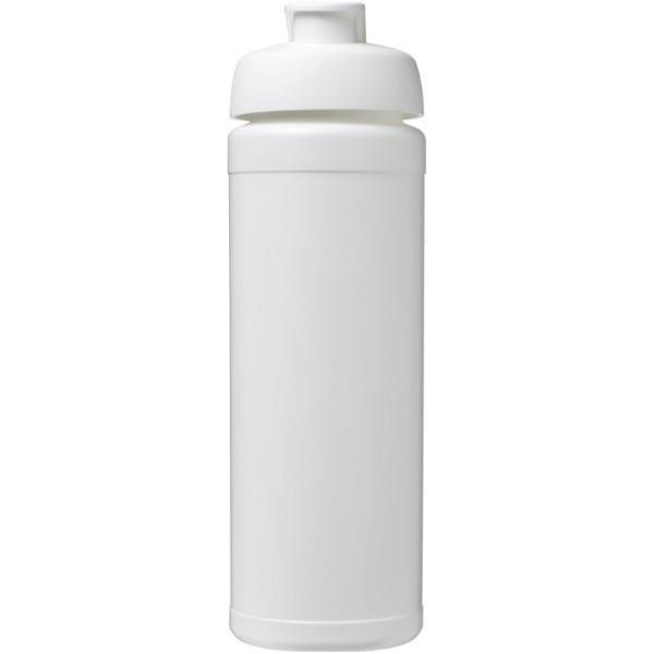 Sportovní láhev s vyklápěcím víčkem Baseline® Plus grip 750 ml - Bílá