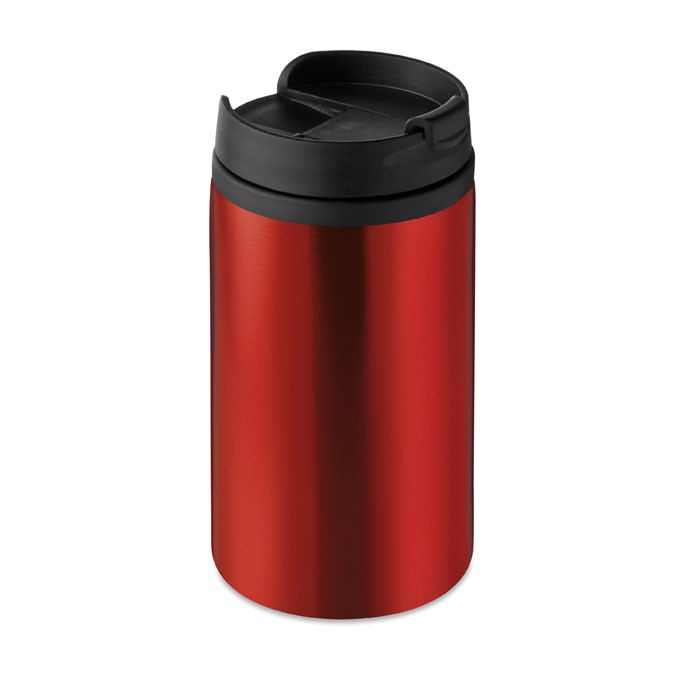 Double wall cup 250 ml Falun - Red