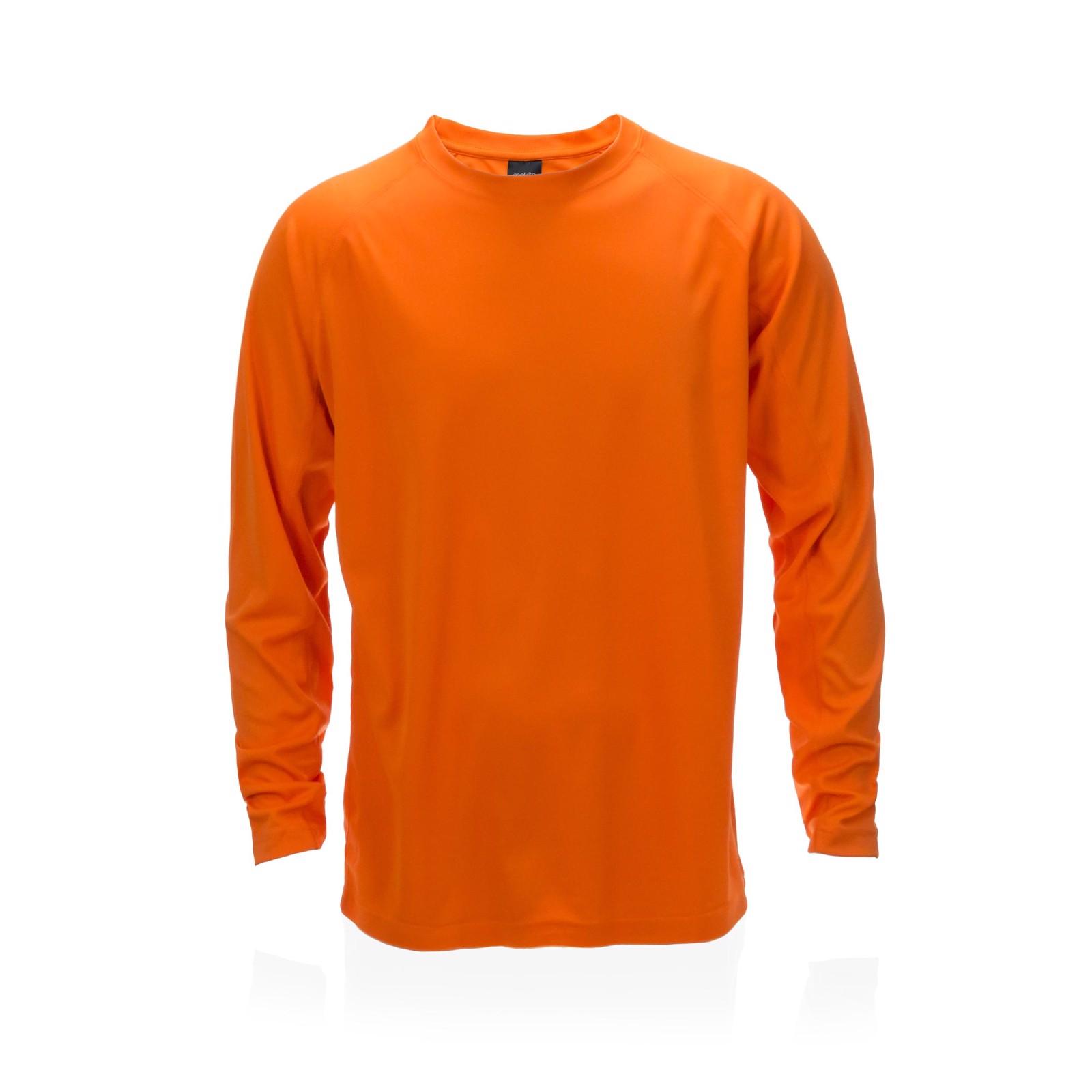 Camiseta Adulto Tecnik Maik - Naranja / L