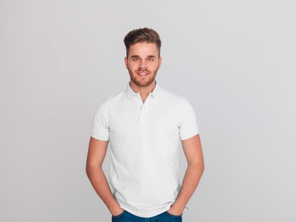 Polo Bartel Blanco - Blanco / S