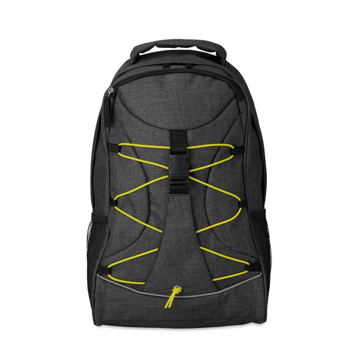 Glow in the dark backpack Glow Monte Lema - Green