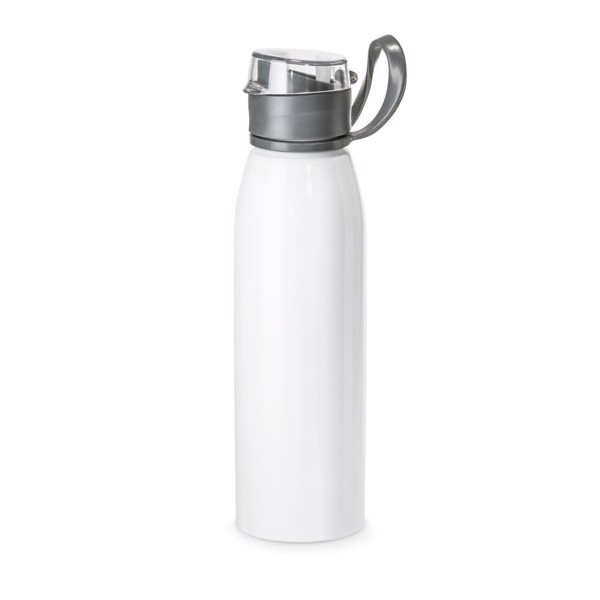 KORVER. Sports bottle 650 ml - White