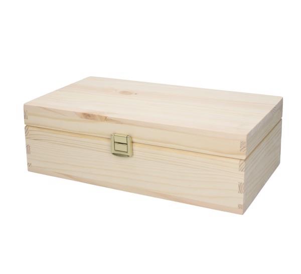 """Wooden Box """"Pino"""", Large"""