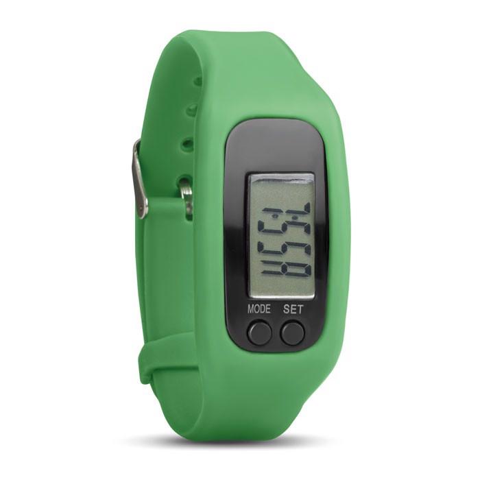 Pedometer bracelet Bratara - Lime