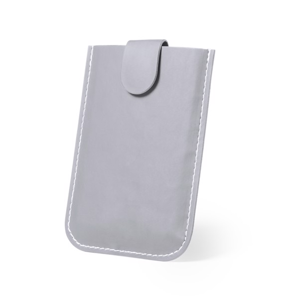 Card Holder Serbin - Grey
