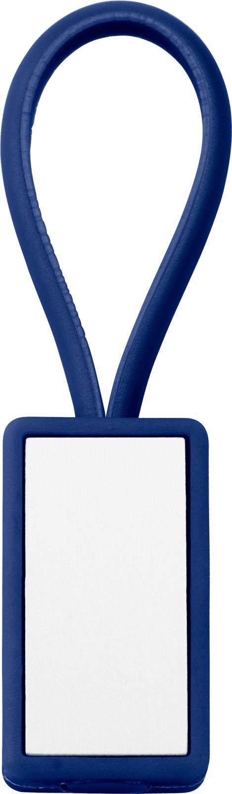 Plastic key holder - Blue
