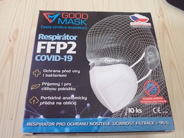 RESPIRÁTOR GOOD MASK FFP2 (10 KS)
