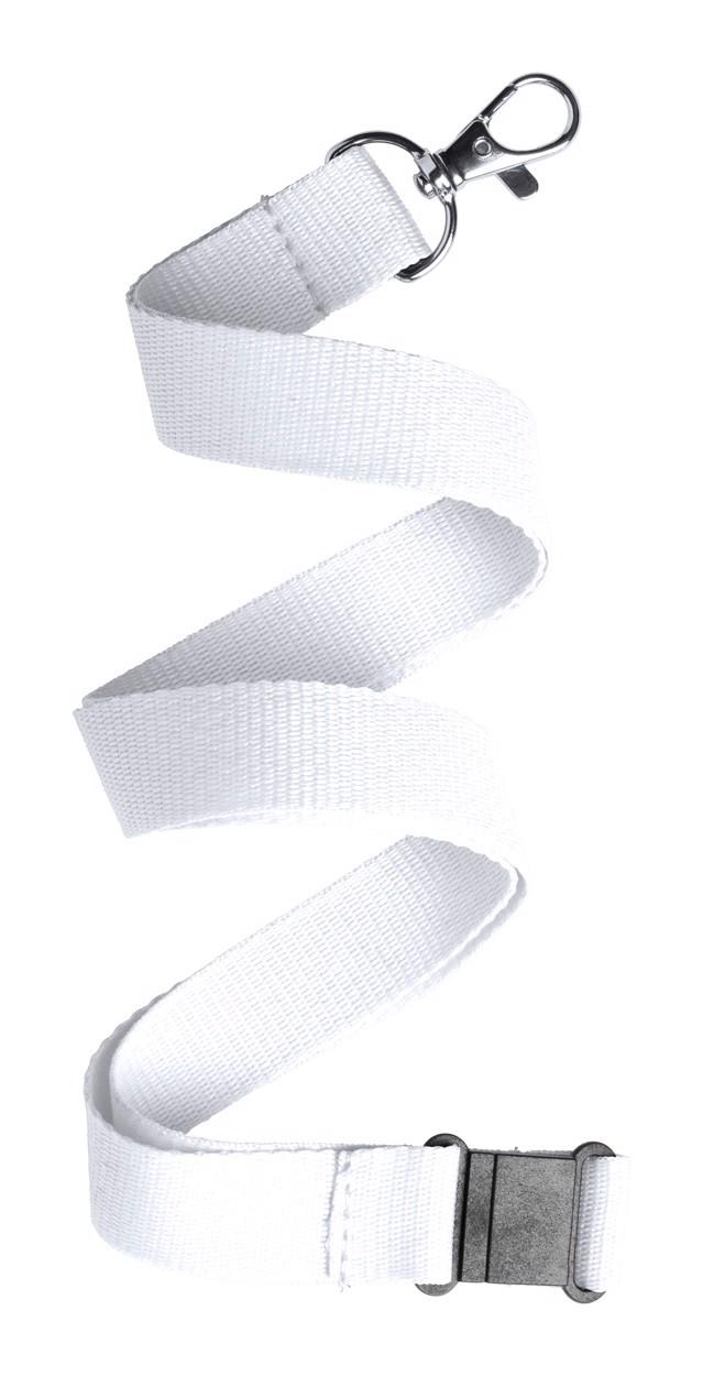 Lanyard Kappin - White