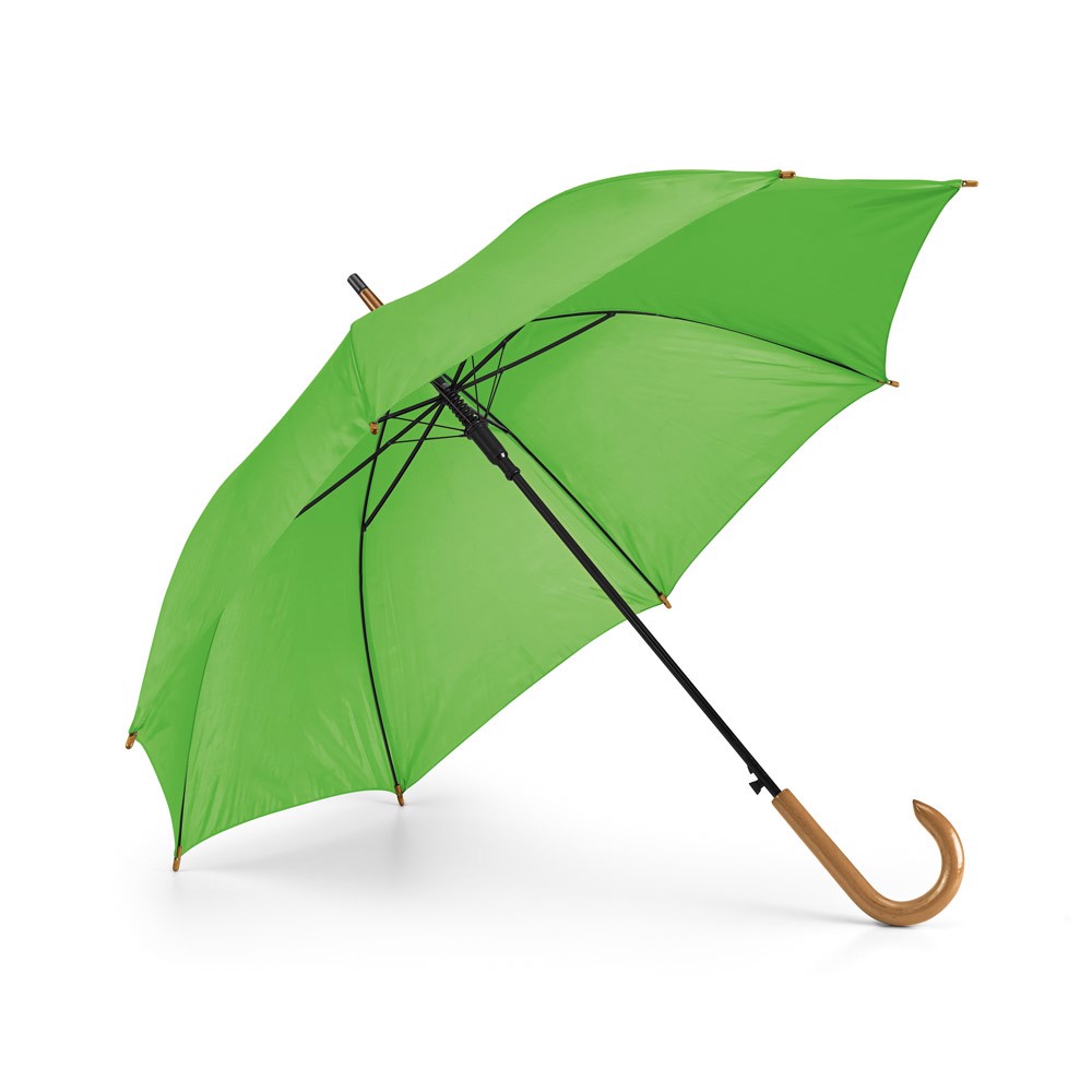 PATTI. Umbrella with automatic opening - Light Green