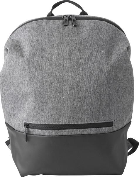 Rucksack 'Biggelo' aus Polyester - Grey