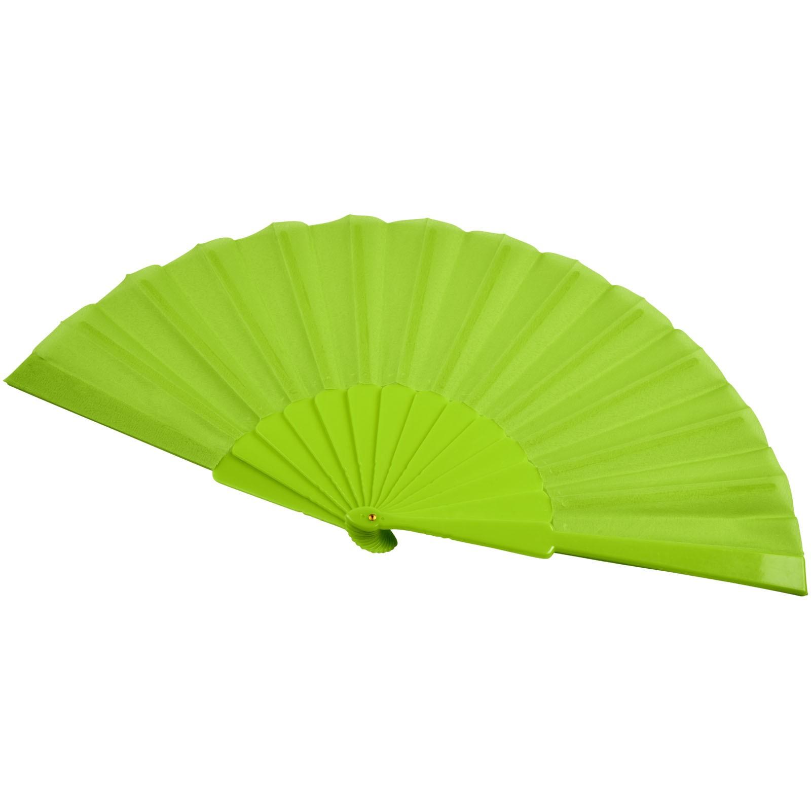 Składany wachlarz Maestral w pudełku papierowym - Zielony