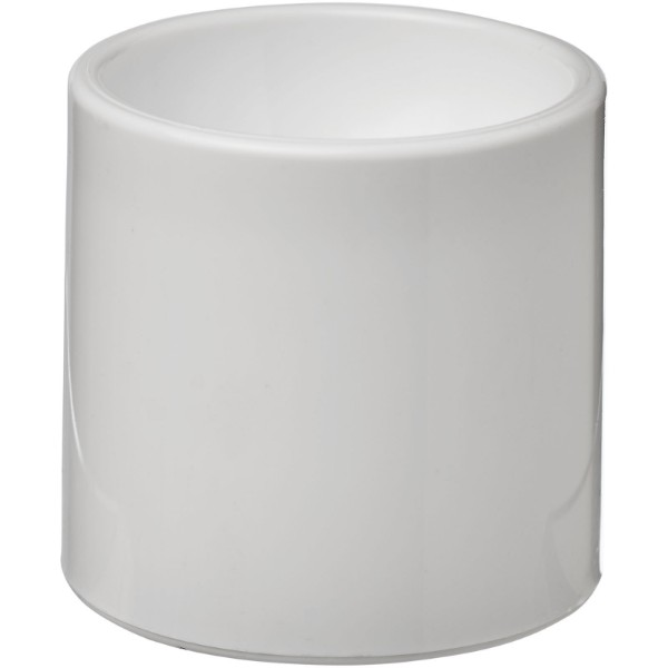 Edie plastic egg cup - White