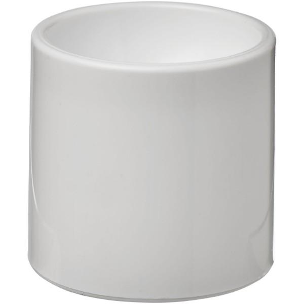 Plastový šálek na vejce Edie - Bílá