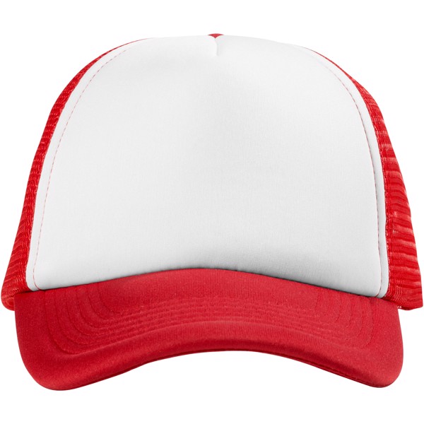 Trucker 5 panel cap - Red / White