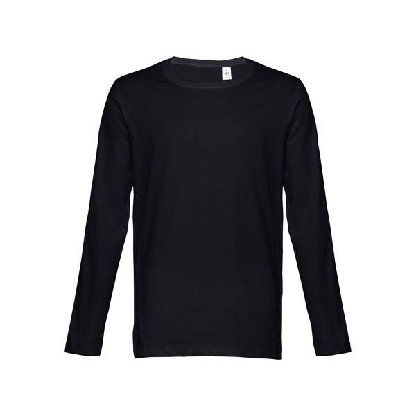 BUCHAREST. Pánské tričko s dlouhým rukávem - Černá / XL