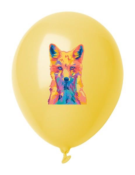 Balonky V Pastelových Barvách CreaBalloon - Žlutá