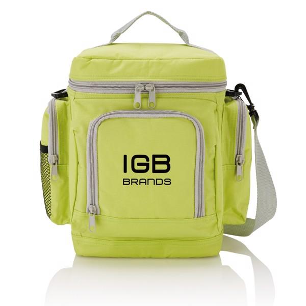 Cestovní chladicí taška Deluxe - Zelená