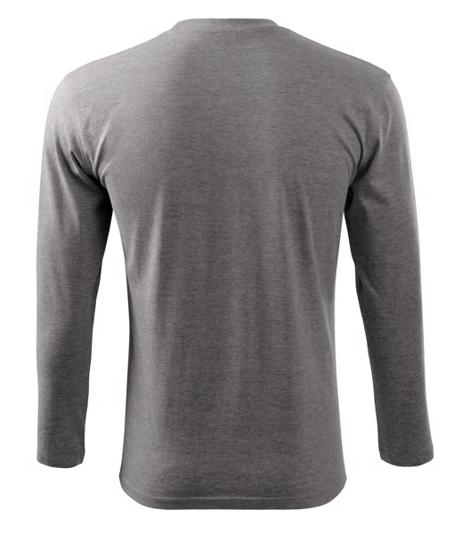 T-shirt unisex Malfini Long Sleeve - Dark Gray Melange / XL
