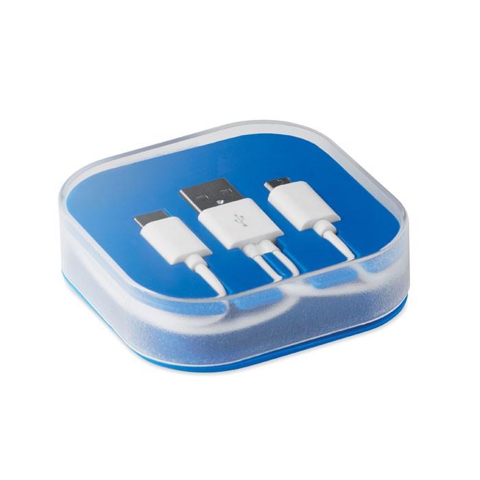 A-B-C Kabel-Box Connecti - königsblau