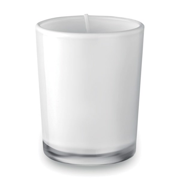 Scented candle in glass Selight - White