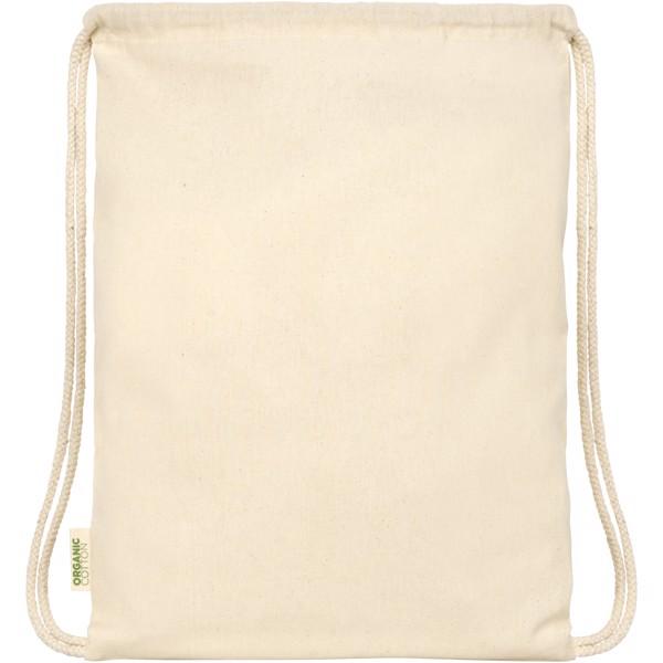 Športna torba z vrvicami iz GOTS organskega bombaža Orissa 100 g/m²