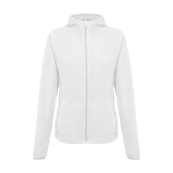 THC HELSINKI WOMEN WH. Women's polar fleece jacket - White / XXL